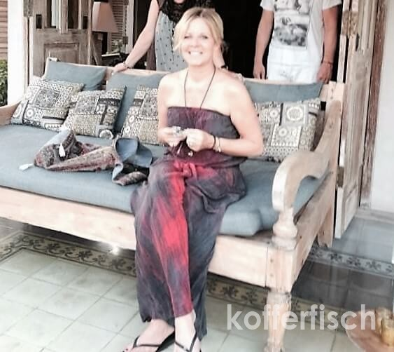 Steph auf Bali