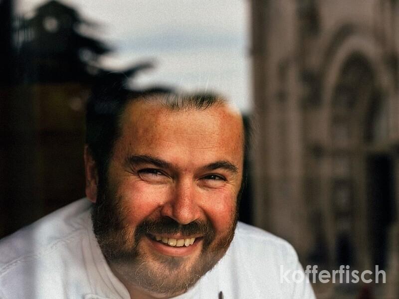 Koch und Inhaber Rudi Stefan