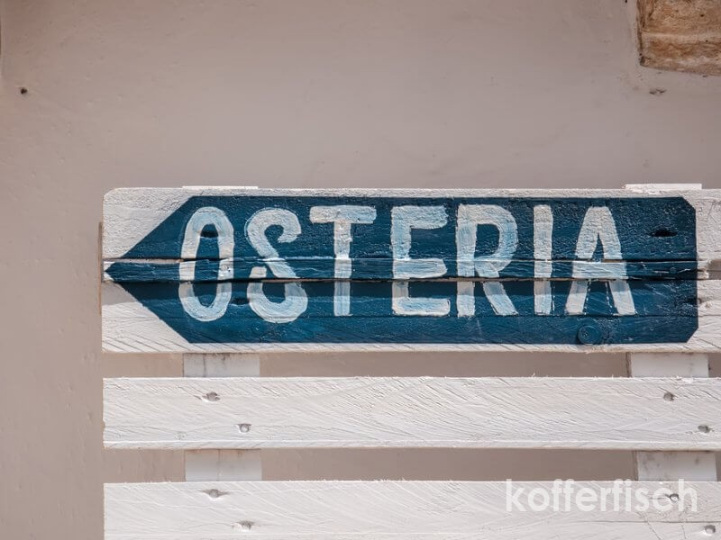 OSTERIA MIRANDA IN LUCCA – WUNDERBAR !!!